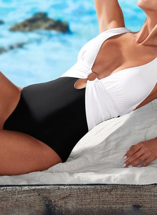 Polyester One-piece Swimwear